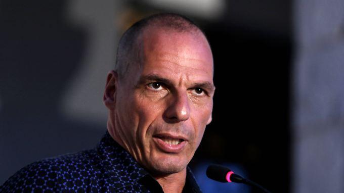 """""""Wolfgang Schäuble ist vermutlich der einzige europäische Politiker mit intellektueller Substanz"""", sagt Yanis Varoufakis."""