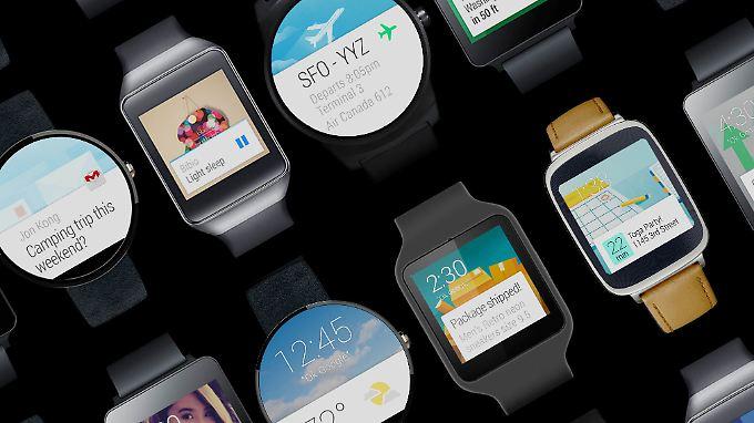 Uhren mit Android Wear sind bislang kein Kassenschlager.