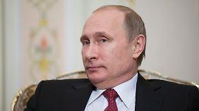 Aggression und Härte: Der Machtmensch Wladimir Putin