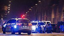 Die Polizei ist in Dänemark im Großeinsatz.