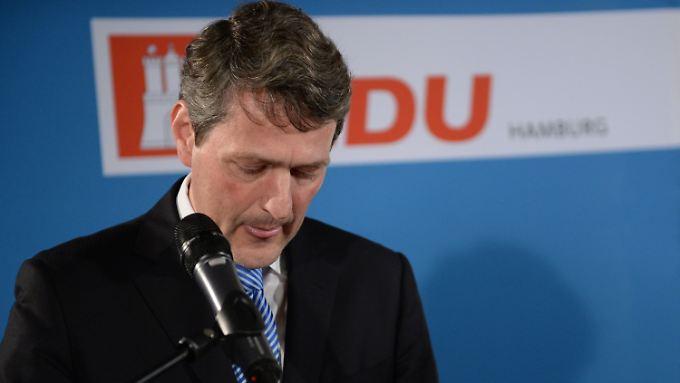 Die Hamburger CDU konnte mit ihrem Spitzenkandidaten Dietrich Wersich nur 16 Prozent der Wähler überzeugen.
