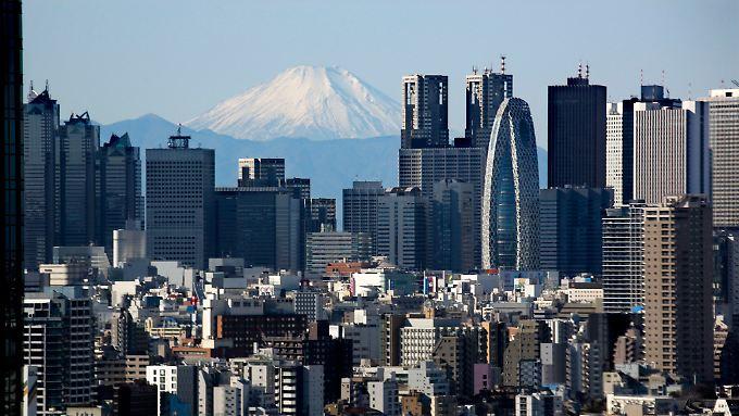 Seit rund 20 Jahren wächst Japans Wirtschaft kaum