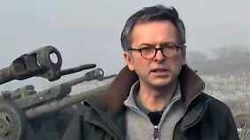 n-tv vor Ort in der Ostukraine: Waffenruhe steht auf wackligem Fundament