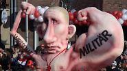 Nächstes Thema: Putin und die Ukraine, wiederum in Düsseldorf.