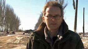 n-tv vor Ort in Debalzewe-Region: Separatisten kesseln 5000 ukrainische Soldaten ein