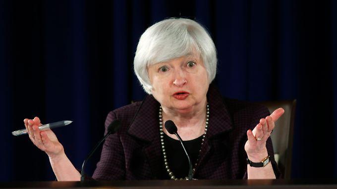 Fed-Chefin Yellen wartet lieber noch.