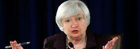 Geduld ist oberste Tugend: Fed hat Angst vor zu frühem Zinsschritt