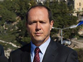 "Boulevardblätter nennen ihn Israels neuen ""Super Mayor"": Bürgermeister Nir Barkat (Archivbild)."