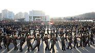… Angehörige des Militärs. Überhaupt ist das Wohl der Soldaten in Nordkorea von größter Bedeutung.