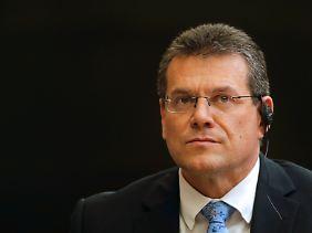 """In der EU-Kommission zuständig für das Großprojekt """"Energie-Union"""": Maroš Šefčovič."""