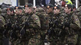 Soldaten des Königlichen Niederländischen Heeres