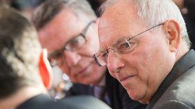 Nicht alle sind überzeugt: Schäuble trommelt für die Griechenlandhilfe