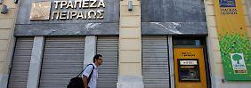 Nach dramatischen Kursverlusten: Griechische Banken fliegen aus Europa-Index