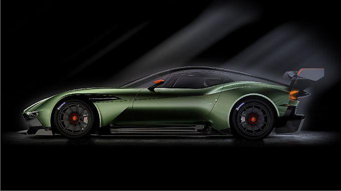 Lediglich 24 Fahrzeuge sollen vom Aston Martin Vulcan gebaut werden.