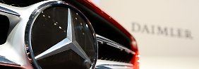 Daimler hat starke Zahlen vorgelegt.
