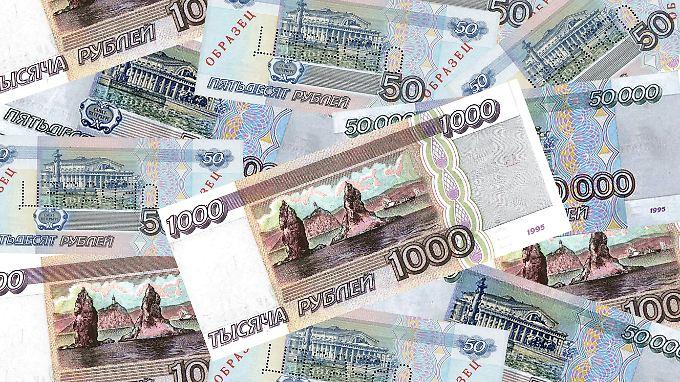 Russland verzeichnet derzeit zudem eine zweistellige Inflationsrate.