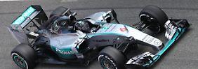 Vettel frisst fleißig Testkilometer: Rosberg schockt die Formel-1-Konkurrenz