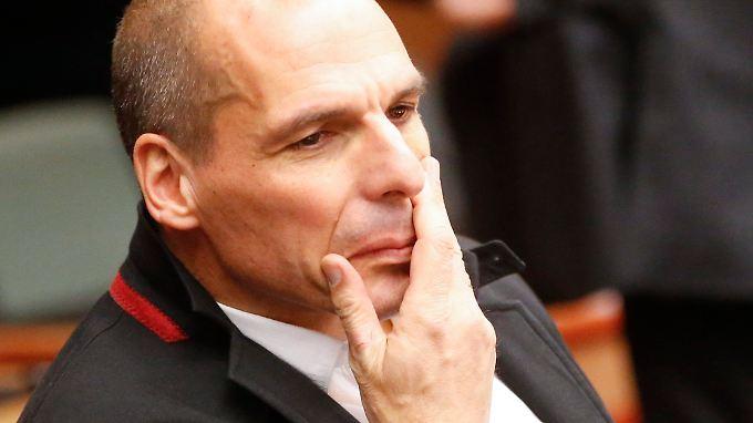 """Yanis Varoufakis: """"Wenn wir das Geld hätten, würden wir bezahlen."""""""