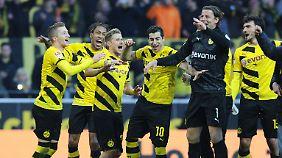 Die Highlights des 23. Spieltags: Dortmund macht Fans glücklich, Matthias Sammer motzt
