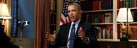 Zehn Jahre Frist für Teheran: Obama: Iran soll Atomprogramm einfrieren