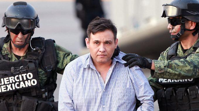 """""""Los Zetas""""-Chef Omar Treviño Morales wurde gefasst."""
