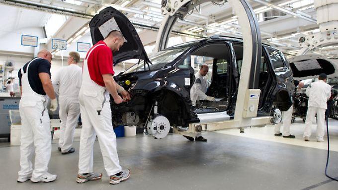 Für sechs westdeutsche VW-Werke gilt die Einigung.