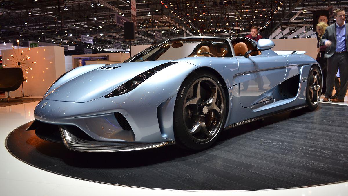 1800 PS für den Koenigsegg Regera