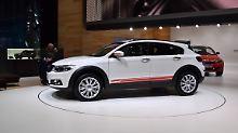 Der Qoros 3 City SUV soll den chinesiscen Autobauer in der Spur halten.