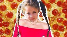 """Popstar-Liebe geht durch den Magen: Miley Cyrus ist die """"Pizza Slut"""""""
