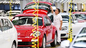 Aus für den VW Beetle?: Volkswagen stellt seine Modelle auf den Prüfstand