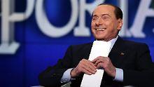 Das Urteil gibt Berlusconis Hoffnungen auf ein politisches Comeback weiter Aufwind.