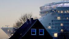 """Größtes Schiff aus Deutschland: """"Anthem of the Seas"""" will Meer"""