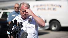 """""""Schwer vergiftete Atmosphäre"""": Polizeichef von Ferguson räumt das Feld"""