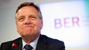 Durchwachsene Bilanz: Mehdorn räumt BER-Chefposten