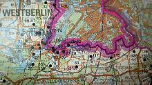 Der Atlas zeigt die oft geheimen Standorte des Militärs, der Stasi und der sowjetischen Streitkräfte der ehemaligen DDR.