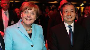 Merkel eröffnet Technikmesse: China erobert die Cebit