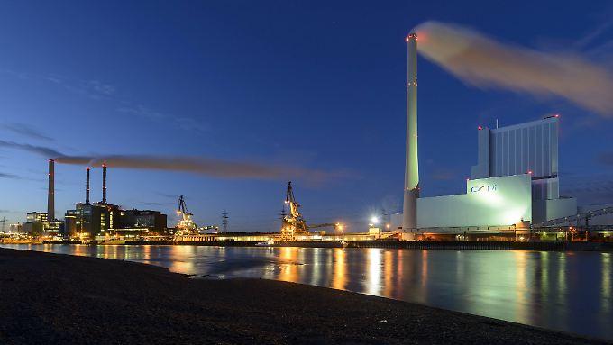 Ob das noch ein Geschäft für die Zukunft ist? Kohlekraftwerk in Mannheim.