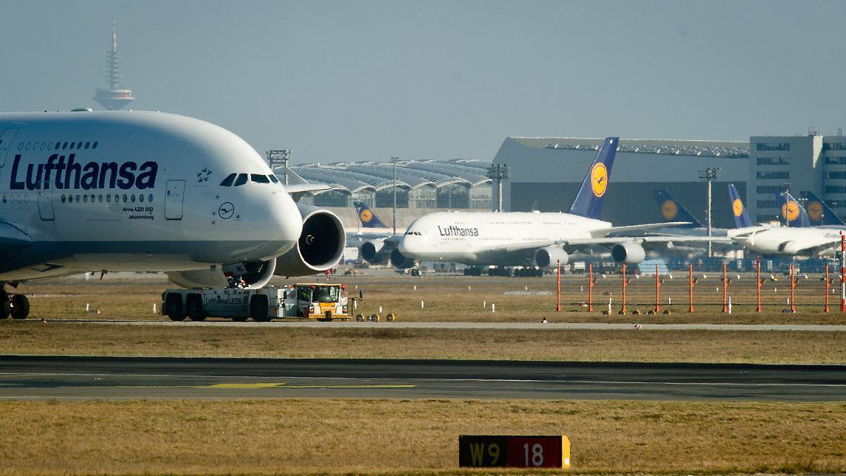 Arbeitskampf ab Donnerstag: Lufthansa-Piloten streiken auf ...