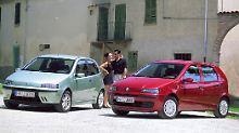 Den Punto in den Jahren 1999 bis 2007 produzierte Fiat nur als Drei- und Fünftürer.