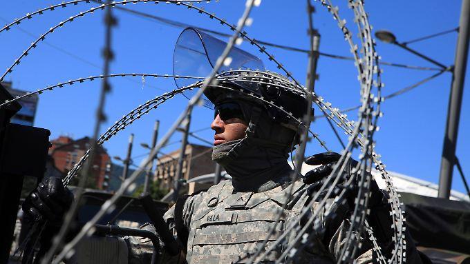 Bis heute sind Nato-Truppen in Serbien stationiert.