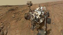 """Früher kein Wüstenplanet?: """"Curiosity"""" liefert Hinweis für Leben auf Mars"""