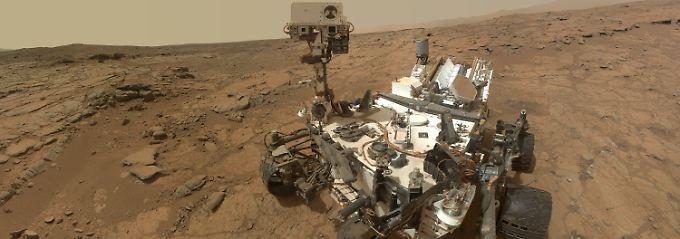 """Füttert die Wissenschaft seit Jahren mit Daten über den Mars: """"Curiosity""""."""