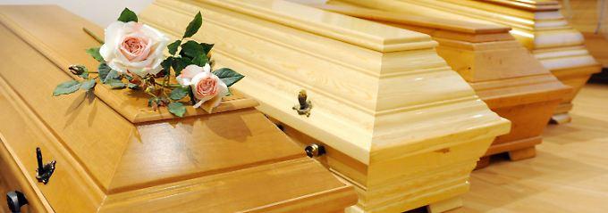 Bei einem Todesfall ist einiges zu regeln.