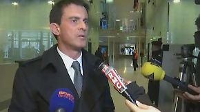 "Frankreichs Premier Manuel Valls: ""Solche Abstürze kommen selten vor"""
