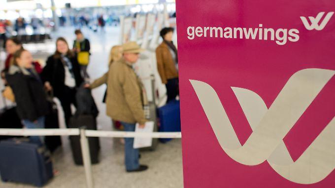 Bisher ist nur eine Verbindung mit Germanwings ausgefallen.