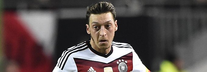 Hier wirkt er doch ganz dynamisch: Mesut Özil.