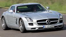 Mercedes SLS AMG: Ein Klassiker von morgen hebt ab