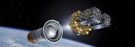 Bange Stunden im Galileo-Programm: Europa schießt zwei Satelliten ins All