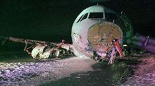 Mehr als 20 Verletzte in Halifax: Air Canada-Maschine legt Bruchlandung hin