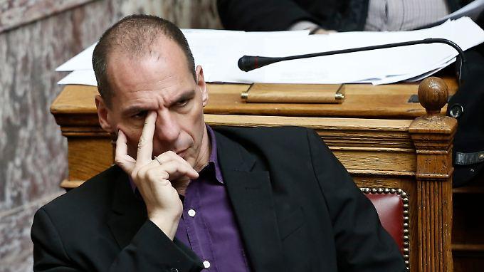 """""""Es muss aufhören: Athens Kassenwart Varoufakis appelliert für eine Rückkehr zu moderaten Tönen."""